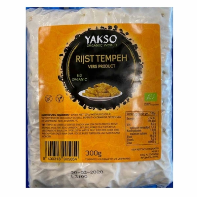Rijsttempeh YAKSO
