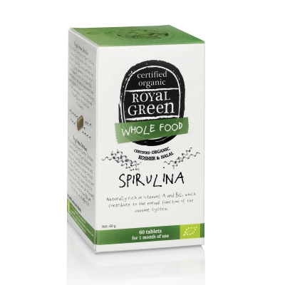 Spirulina vegan ROYAL GREEN
