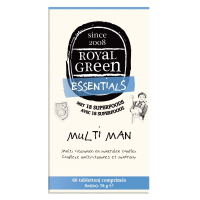 Multi vitaminen man ROYAL GREEN