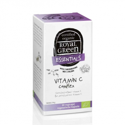 Vitamine c complex vegan ROYAL GREEN