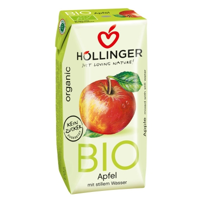 Appelsap helder 3x200ml HOLLINGER