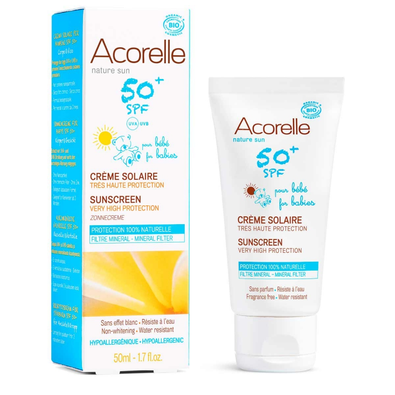 Sunscreen for babies spf